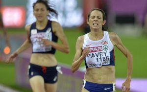 Pavey se convierte en la campeona europea más veterana