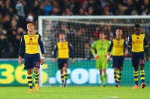 Swansea 2-1 Arsenal: Arsenal Player Ratings