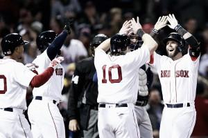 Behind Dustin Pedroia's big night, Boston Red Sox defeat Atlanta Braves 9-4
