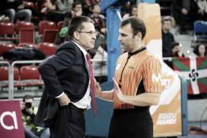 """Pedro Martínez: """"Me ha gustado la reacción, pero no hemos jugado bien"""""""