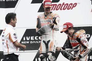 Dani Pedrosa llega a los 90 podios en MotoGP