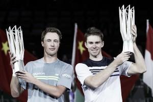 Kontinen y Peers se coronan a lo grande en Shanghai