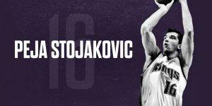 Los Kings rendirán homenaje a Peja Stojakovic