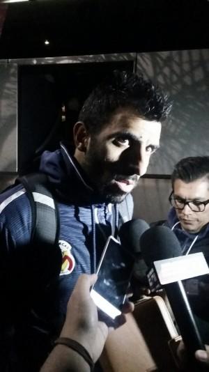 """Cristian Pellerano: """"Supimos manejar un partido con un rivalmuy difícil"""""""