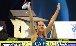 Europei di Berlino 2014, nuoto: Immensa Pellegrini, terzo Oro consecutivo, nessuno come lei