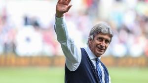 "Pellegrini: ""Si eres un equipo grande debes estar en la Champions League"""