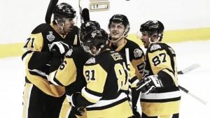 Stanley Cup Final: Pittsburgh Penguins win wild Game 1 over Nashville Predators