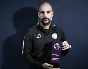 Pep Guardiola, mejor manager del mes de febrero en la Premier