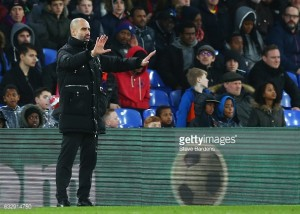 Pep Guardiola hails his strike-force after Sterling, Sane and Jesus all impress at Selhurst
