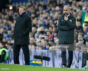 Manchester City vs Everton Live Score Stream in Premier League 2017 (1-1)