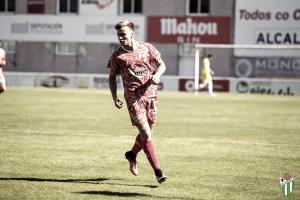 Pepe Carmona entra en la historia del Club Deportivo Guijuelo
