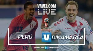Resumen Perú 0-1 Dinamarca en Mundial Rusia 2018