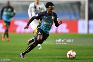 Brighton linked with South African striker Percy Tau