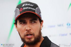 """Sergio Pérez: """"Hay potencia y haremos más progresos en el equilibrio"""""""