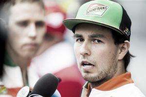 """Sergio Pérez: """"No he hablado con Massa tras el accidente"""""""