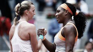 WTA Madrid: Kuznetsova e Kvitova in finale, fuori Sharapova e Williams