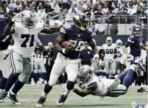 La mejor versión de Peterson no es suficiente para ganar a los Cowboys