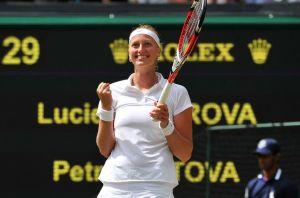 Kvitova está en la final de Wimbledon