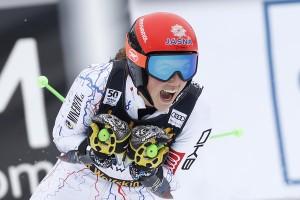 Sci Alpino, Aspen - Slalom femminile, 1° manche: Vlhova davanti, terza la Shiffrin