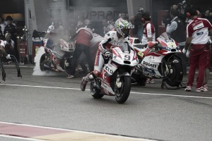 Proud Petrucci pleased despite collecting DNF at German GP