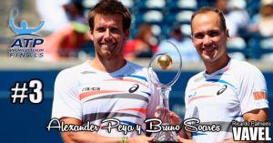 Alexander Peya y Bruno Soares: irregularidad sin consecuencias