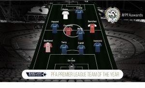 La PFA ha elegido su 'once' de la Premier League