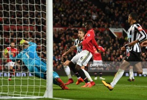 Manchester United 4-1 Newcastle United: Red Devils cruise to win following slow start