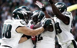 Los Eagles vencen a los Rams