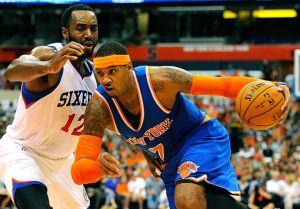 New York Knicks Defeat Winless Philadelphia 76ers 91-83