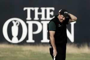 The Open 2016: Mickelson sets pace at Royal Troon