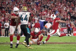 Late field goal gives Arizona Cardinals victory against Jacksonville Jaguars