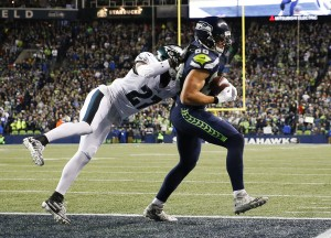 Seattle Seahawks upset the Philadelphia Eagles