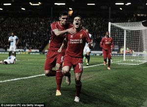 Coutinho's best years are still ahead of him, says Rodgers