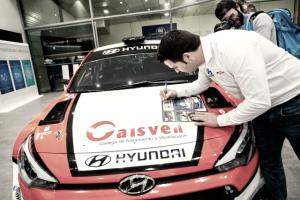 El Hyundai i20 R5 de Iván Ares a venta