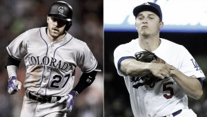 Trevor Story and Corey Seager are on a historic home run pace for rookie shortstops