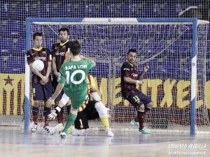 Rafa Usín firma por tres años con el FC Barcelona Alusport