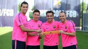 El Barça ya tiene capitanes