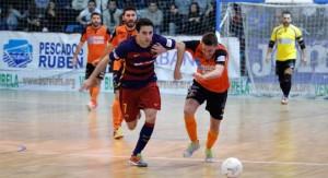 El FC Barcelona Lassa coge aire en Burela