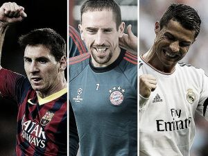 El Balón de Oro 2013 será para Cristiano Ronaldo, Ribéry o Messi