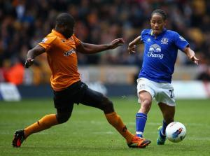 Everton fail to take all three points against a weak Wolves side