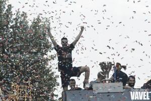 El Camp Nou se viste de gala para celebrar el doblete y despedirla temporada