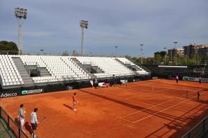 El equipo español de Fed Cup ya calienta motores