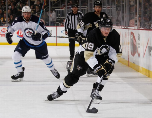 Pittsburgh Penguins Beat Winnipeg Jets, 5-3, Without Sidney Crosby