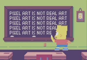 Los Simpsons ahora en 8-Bits