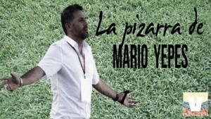 La pizarra de Mario Yepes: Millonarios