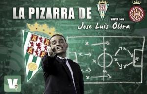 La pizarra de Oltra: Córdoba CF - Girona FC