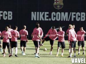 Suárez sigue sin estar con el grupo