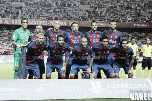Puntuaciones FC Barcelona - Athletic, vuelta de octavos de final de Copa del Rey 2017