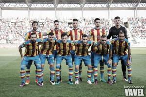 El equipo de los valencianos