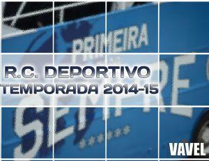 Temporada del Real Club Deportivo de la Coruña 2014-15, en VAVEL